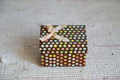 Polka dot box