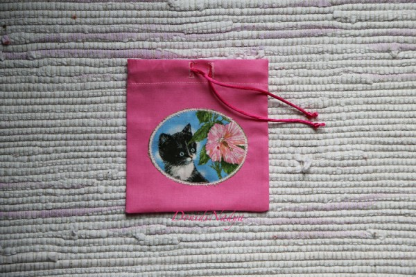"Small bag ""Black kitten"""