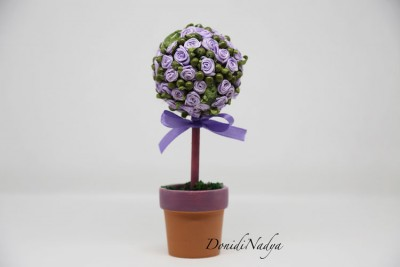 Lilac topiary