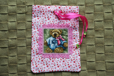"Gift bag  ""Pretty bear"""