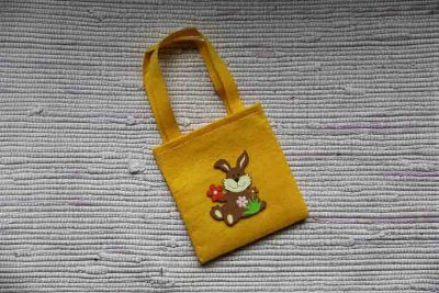 Yellow Easter bag