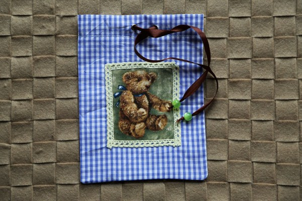 "Gift bag ""Brown bear"""