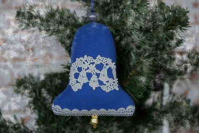 Christmas tree decor bell