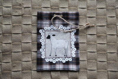 "Handmade gift bag ""Sheep-5"""